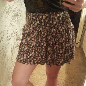 3/$15 SM Forever 21 Mini Skort Skirt Wide Elastic